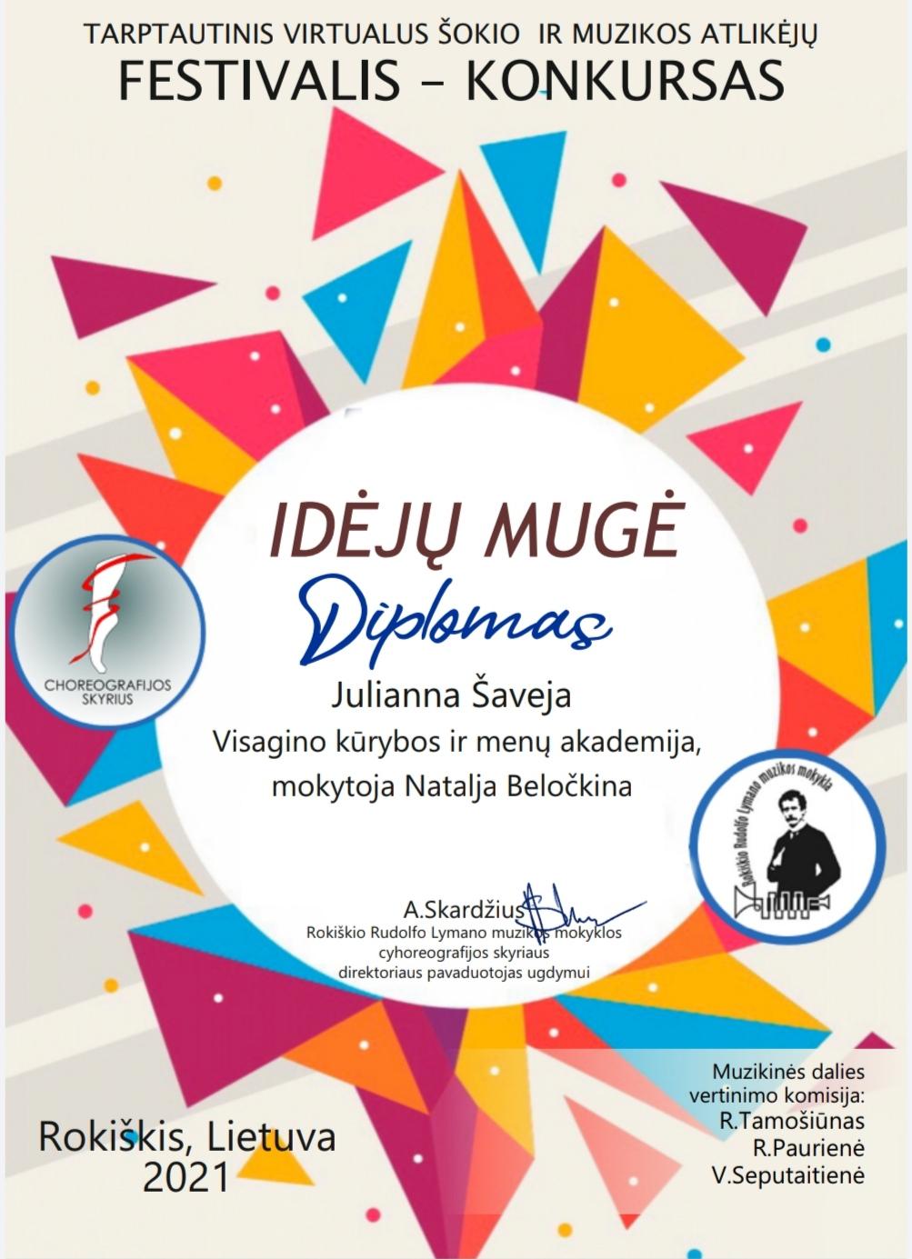 Sveikiname Ekateriną Nikuliną, Julianną Šaveją,  Jelizavetą Skarudiną su pergale!